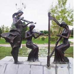城市雕塑 园林雕塑 、城市雕塑、怡轩阁雕塑(查看)图片