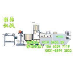 鹤岗自动豆腐机、联浩自动豆腐机械、大型干豆腐机厂家图片