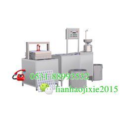 全自动大豆腐机生产线|双鸭山全自动豆腐机设备图片