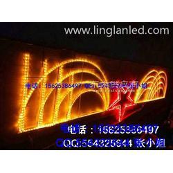 LED图案灯、五角星兜帘灯、LED幕帘灯、led节日图案灯图片