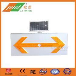 太阳能LED双向导向标图片