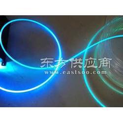 供应5.0mm软质导光棒光纤照明设备引光灯导光显示手机显示灯 通体发光超软塑料条图片