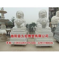 久宏雕塑 石雕狮子-石雕狮子图片