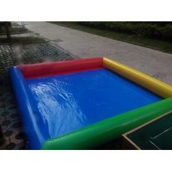 儿童充气沙池专用沙、乐之源(在线咨询)、中山充气沙池图片