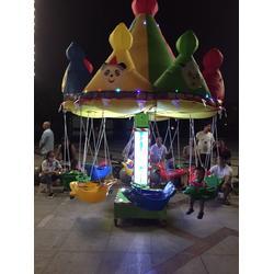 电动玩具秋千飞鱼,秋千飞鱼,乐之源图片