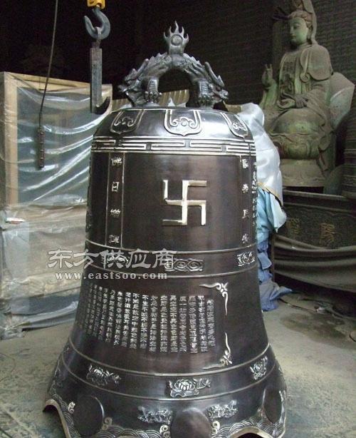 贵州寺庙铜钟|怡轩阁雕塑|寺庙铸铜钟图片