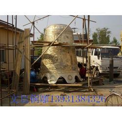 怡轩阁雕塑、铜钟、铜钟雕塑图片