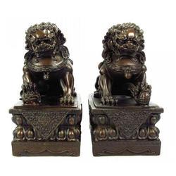 大厦门口狮子厂家,辽源门口狮子厂家,怡轩阁雕塑图片