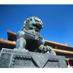 怡轩阁雕塑,出口铜狮子厂家,毕节出口铜狮子图片