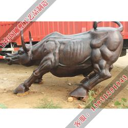 铜牛雕塑厂家_呼和浩特铜牛雕塑_怡轩阁铜工艺品图片