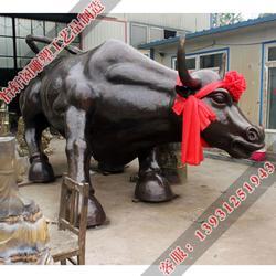 贺州铜牛雕塑、怡轩阁雕塑、广场铜牛雕塑图片