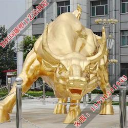 怡轩阁雕塑-青铜牛制作厂家-丽水铜牛制作厂家图片