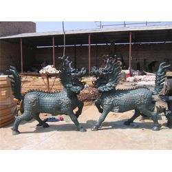 铸铜麒麟 山西铜麒麟 怡轩阁雕塑(图)图片