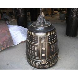 贵州铸铜钟_怡轩阁雕塑_铸铜钟厂家图片