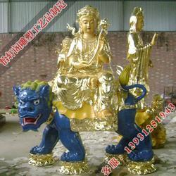 云南文殊普贤佛像-怡轩阁雕塑图片