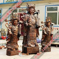 吕梁财神铜像-怡轩阁雕塑-财神铜像铸造图片