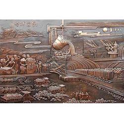 怡轩阁雕塑厂,铜浮雕铸造厂,淮南铜浮雕图片