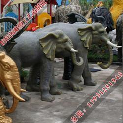 铜大象制作厂家|德州铜大象|怡轩阁雕塑图片