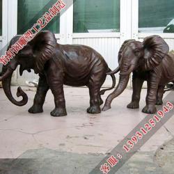 江西订做铜雕大象_订做铜雕大象价格_怡轩阁雕塑图片