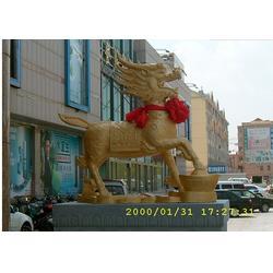 铜麒麟雕塑,荆州铜麒麟雕塑,怡轩阁雕塑图片