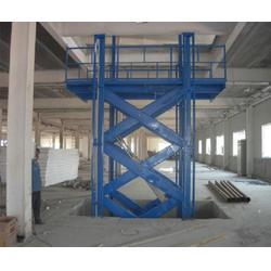 两层三层、四层液压升降货梯、河北货梯、强峰升降货梯厂家直销图片