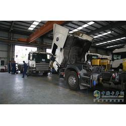 田中工贸免费提供建厂方案、卡车修理厂、大货车卡车修理厂图片