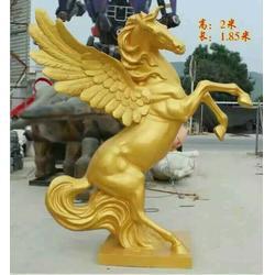 铜飞马雕塑模型、河南铜飞马、鑫禄雕塑(查看)