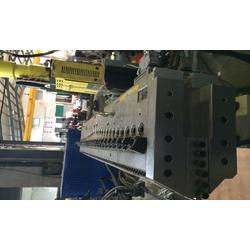 朗逸塑料机械(图)、土工格栅生产线、土工格栅生产线图片