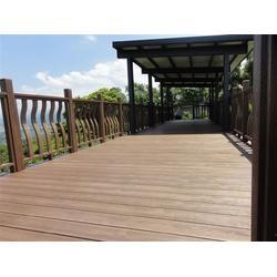 户外PS仿木地板、亚茂公司、房山区PS仿木图片