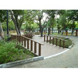 塑木户外栏杆厂家-思南县栏杆-亚茂公司(查看)图片