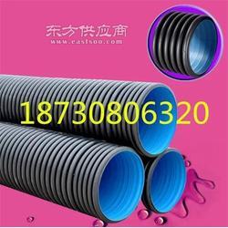 厂家优质u-pvc/HDPE双壁波纹管 PE钢带增强波纹管图片