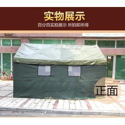 46帆布帐篷,冬季加棉保暖施工住人帐篷,冬季路边餐饮摊位帐篷,齐鲁帆布帐篷厂生产图片