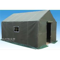 齐鲁帐篷厂生产34单层帆布帐篷工地住人,室外餐饮图片