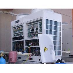 愉天小区空调维修,空调风口管道改造,中央空调维修图片