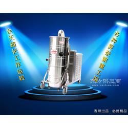 威德尔工厂车间仓库吸粉尘用大功率工业吸尘器WX100/75图片