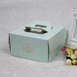 手提蛋糕盒批发价、义乌市路加包装、食品蛋糕包装手提蛋糕盒图片