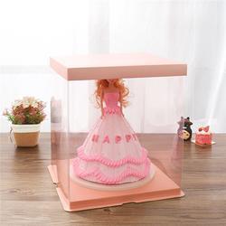 透明生日蛋糕盒_【启智包装】保质保量图片