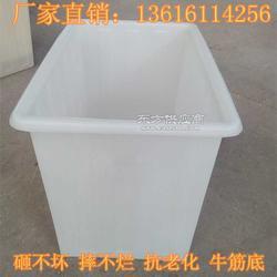 牛筋方箱塑料水箱350Lpe水槽养殖箱养鱼箱养龟箱加厚储物箱图片