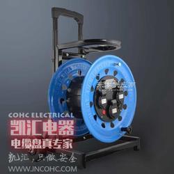 凯汇轮车式移动电缆卷线盘自动伸缩卷管器 型号W-C4A图片