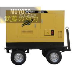 55KW静音柴油发电机组,水冷发电机图片