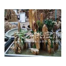 锦绣河山吸水石盆景定制家具装饰首选图片