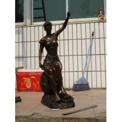 四川西方人物雕塑 人物铜雕塑|汇丰铜雕图片