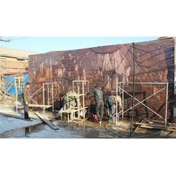 大型铜浮雕厂-汇丰铜雕-长春铜浮雕厂图片