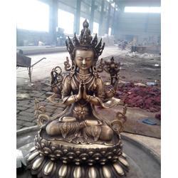 宗客巴藏佛铜像、汇丰铜雕、浙江藏佛铜像图片