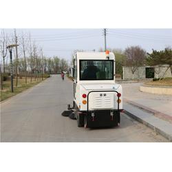 封闭式扫路车-扫路车-天洁机械(多图)图片