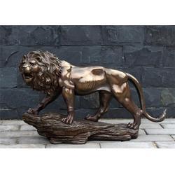 宁夏铜狮子铸造|汇丰铜雕|故宫铜狮子铸造图片