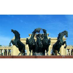 铜马铜雕,腾飞铜马铜雕加工厂,汇丰铜雕图片