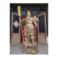 夜读春秋铜关公黄铜铸造|汇丰铜雕图片