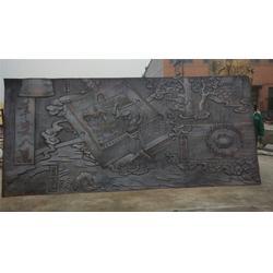 加工锻铜浮雕铜制品-汇丰铜雕图片