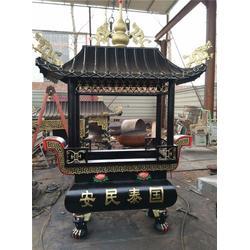 黄铜香炉寺庙烧香铜制品、汇丰铜雕(图)图片
